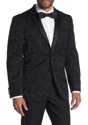 Ben Sherman Paisley Two Button Notch Collar Sport Coat