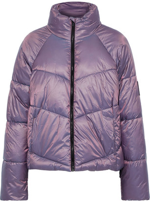 DKNY Holographic Quilted Shell Jacket