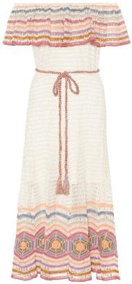 Anna Kosturova Exclusive to Mytheresa Marianne cotton midi dress