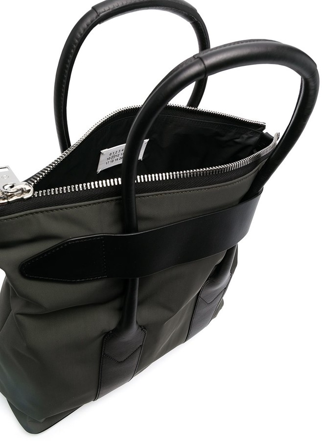 Thumbnail for your product : Maison Margiela Stitch-Motif Tote Bag