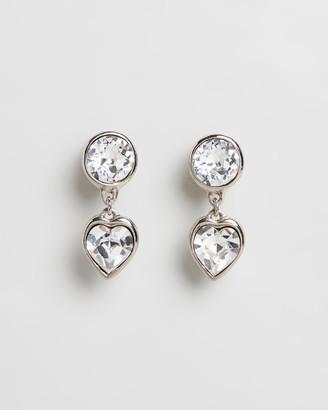 Peter Lang Fucsia Clip Earrings