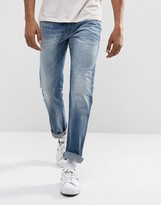 Wrangler Spencer Straight Funk Blue Jean