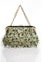 Rafe Brocade Bead Evening Clutch Handbag