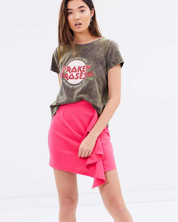 Atmos & Here ICONIC EXCLUSIVE - Katie Ruffle Front Skirt