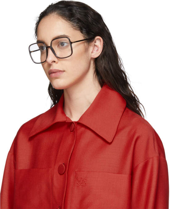Thumbnail for your product : Christian Dior Grey Oversized SOSTELLAIRE01 Glasses
