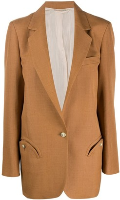 BLAZÉ MILANO Fitted Single-Breasted Blazer