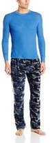 Bottoms Out Men's Microfleece Pant and Thermal Top Set