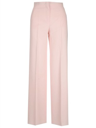 Max Mara High Waist Crepe Trousers