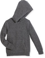Sofia Cashmere Hooded Cashmere Pullover Sweater, Size 2-10