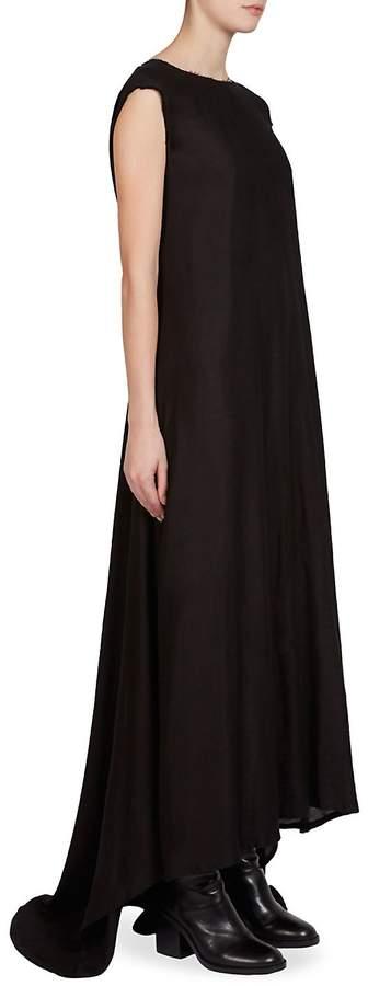 Ann Demeulemeester Women's Cap-Sleeve Gown