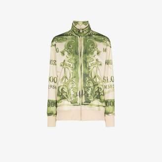 Moschino bank note print sweatshirt