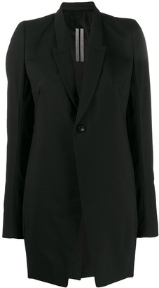 Rick Owens long-length blazer