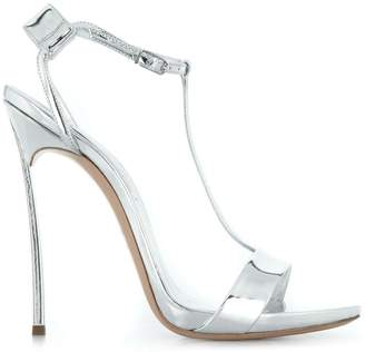 Casadei T-bar stiletto sandals