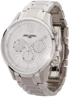 Jorg Gray Women's Quartz Watch with White Dial Analogue Display and Silver Stainless Steel Bracelet JG1500-24