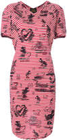 Vivienne Westwood striped T-shirt dress