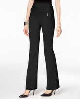 INC International Concepts Curvy-Fit Bootcut Pants, Only at Macy's