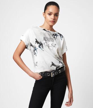 AllSaints Santo Imogen Boy T-Shirt