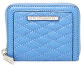 Rebecca Minkoff Ava Mini Quilted Zip Around Wallet