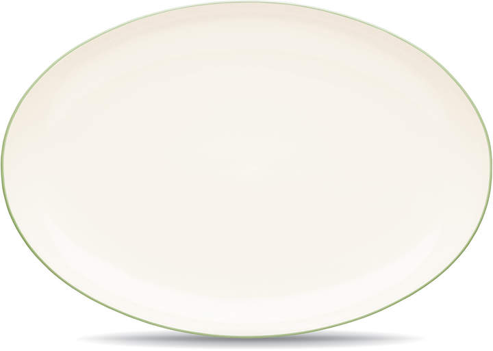 Noritake Colorwave Apple Green 41cm Oval Platter
