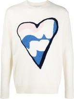 Leret Leret No. 6 Heart knit jumper
