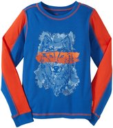 Masala Wolf Racer T-Shirt (Toddler/Kid) - Navy-6 Years