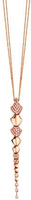 Akillis Python 18K Rose Gold & Diamond Pendant Necklace