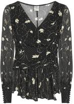 Baum und Pferdgarten Matinez floral-print chiffon blouse