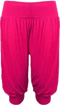 GirlzWalk ® Ladies Women Plain 3/4 Hareem Crop Ali Baba Trouser