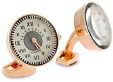 Tateossian Rose Gold Plated Watch Cufflinks