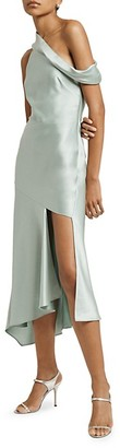 Cushnie Off the Shoulder Slip Dress
