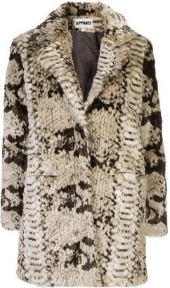 Apparis Sidney faux fur coat