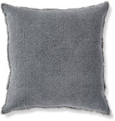 Napa Home And Garden Woven Fringed 26In Square Euro Pillow