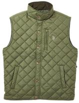 U.S. Polo Assn. Men's Quilted Vest With Patch Pockets