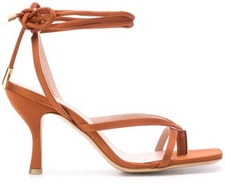 Gia Couture Kandice open-toe sandals