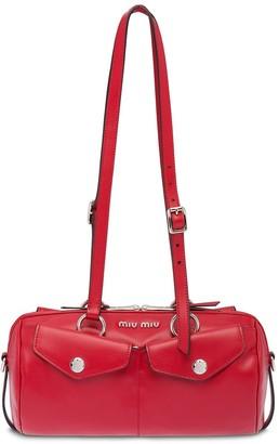 Miu Miu top-handle bandoleer bag