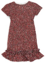 Helena And Harry Little Girl's & Girl's Short-Sleeve Tweed Dress