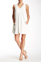ABS by Allen Schwartz Crepe Scuba Trapeze Dress