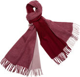One Kings Lane Four Colorway Cashmere Scarf, Merlot
