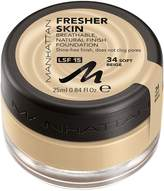Manhattan Fresher Skin Foundation SPF15 25ml