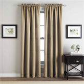 Asstd National Brand Addison Twill Rod-Pocket Curtain Panel
