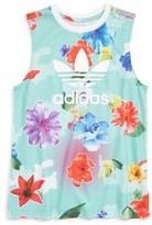 adidas Girl's Floral Tank