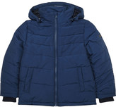 BOSS Appliqué logo quilted puffa jacket 4-16 years