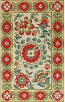 Momeni Suzani Hook Hand-Woven Wool Rug