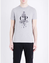 Cp Company Sailor-graphic Cotton-jersey T-shirt