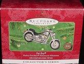 Harley-Davidson QXI6774 Hallmark Fat Boy Motorcycle Milestones 2nd 2000