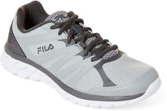 Fila Highrise & Grey Memory Cryptonic Mesh Running Sneakers