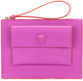 Versace small flap pouch - women - Calf Leather - One Size