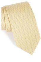 Salvatore Ferragamo Men's Riccardo Dog Print Silk Tie