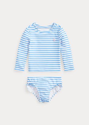 Ralph Lauren Striped 2-Piece Swimsuit