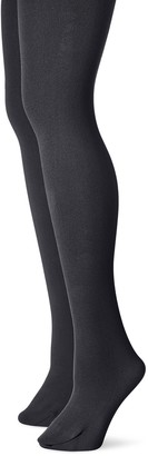 Muk Luks Women's Fleece Lined 2-Pair Pack Tights